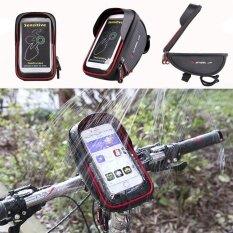 ขาย Bicycle Bike Cycling Front Frame Tube Handlebar Bag Waterproof 6 Mobile Phone Intl Unbranded Generic ถูก