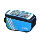 ขาย Bicycle Frame Front Tube Multifunction Waterproof Mobile Phone Bag Blue ราคาถูกที่สุด