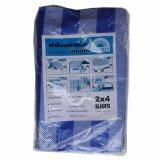 ซื้อ Bignet Blue Sheet Blue And White ผ้าบลูชีท ฟ้าขาว 2ม X4ม มีตาไก่ 1ผืน Bignet ถูก