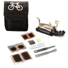 ขาย Bike Accessories 16 In 1 Bicycle Multi Repair Tool Set Hex Spoke Cycle Screwdriver Tool Wrench Mountain Cycle Tool Kit Intl จีน