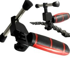 Bike Biaxial Chain Repair Tool Bicycle Chain Splitter Cutter Breaker With Rubber Handle Intl ใหม่ล่าสุด