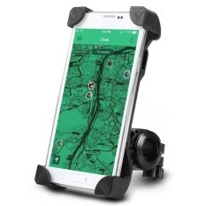 ขาย ซื้อ ออนไลน์ Di Shop Bike Mount Holder Universal Bicycle Phone Holder 360 Degrees Rotatable Cycle Adjustable Cradle Handlebar Roll Bar For Ios Android Smart Phone Gps And Other Devices