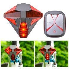 ส่วนลด สินค้า Bike Turn Signals Tail Light High Intensity Red Led Bicycle Rear Light Flashlight Usb Rechargeable With Wireless Remote Control