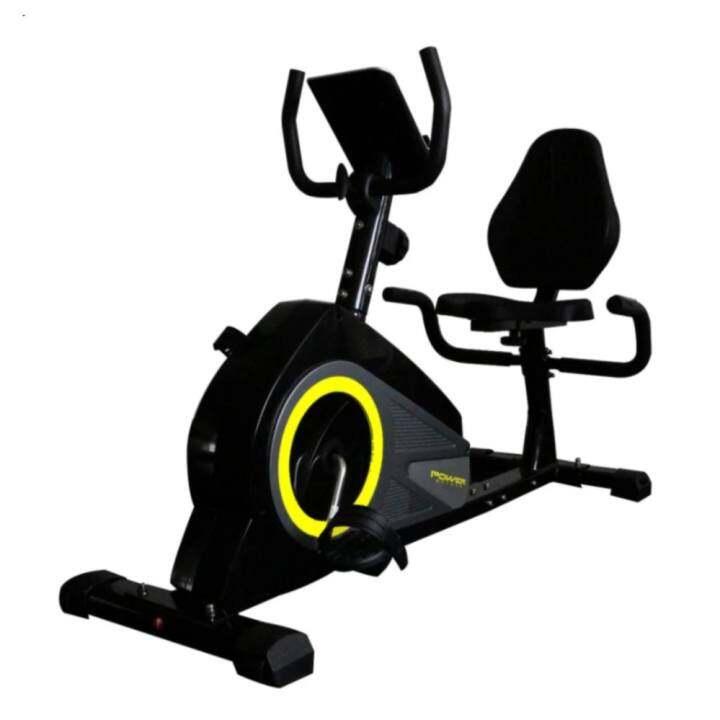Bodygrand จักรยานนั่งปั่น เอนปั่น นอนปั่น จักรยานออกกำลังกาย Exercise Recumbent Bike จักรยานเอนปั่น รุ่น Reactor 335L (สีดำ)