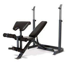 ซื้อ Bodygrand เก้าอี้บาร์เบล เก้าอี้ปรับระดับ แบบ Multi Functional พร้อมแร็ควาง บาร์เบล อิสระ รุ่น Hero Adjustable Weight Bench And Barbell Squat Rack สีดำ กรุงเทพมหานคร