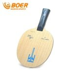 ซื้อ Boer 2017 New Alc 7 Layers Tung Wood And Carbon Fiber Table Tennis Rocket Blade Table Tennis Racket Ping Pong Pat Fast Attack Short Handle Intl ใน จีน