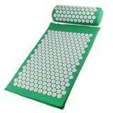ราคา Bolehdeals Acupressure Mat Pillow Set Back Neck Pain Relief Muscle Relaxation Green Intl Bolehdeals เป็นต้นฉบับ