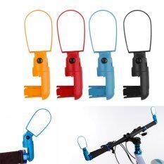 ราคา Bolehdeals Bolehdeals 1Pc Adjustable Cycling Bike Handlebar Rearview Rear View Mirrors Red ใหม่ ถูก