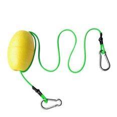 ซื้อ Bolehdeals Kayak Tow Throw Line Floating Accessory Leash Yellow Green Intl ถูก จีน