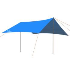 ซื้อ Bolehdeals Waterproof Outdoor Camping Awning Trail Tent Cover Shelter Royal Blue Bolehdeals ถูก