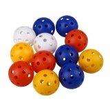 ซื้อ Boom 50Pcs Plastic Whiffle Airflow Hollow Golf Practice Training Balls Golf Intl ถูก