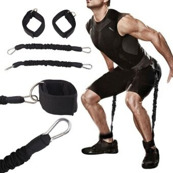 BOOM-Feet Training Strength Stretching Straps Set Body Fitness Exercise Durable Belt - intl