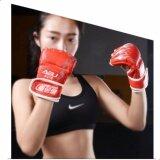 ราคา Boxing นวมซ้อมมวยแบบตัดปลายนิ้ว นวมชกมวย นวมต่อยมวย นวมซ้อมมวย นวมมวยไทย None เป็นต้นฉบับ
