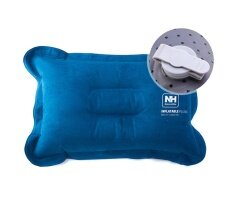 ราคา Brand Naturehike New Upgraded Suede Material Inflatable Pillow For Hiking Backpacking Travel Camping Nap Portable Air Pillows Intl ราคาถูกที่สุด