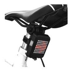 ขาย Bright 64 เลเซอร์ไร้สายเลี้ยวสัญญาณจักรยานไฟ แบบชาร์จไฟได้จักรยานไฟท้าย สมบูรณ์แบบความปลอดภัยจักรยานสำหรับยาวระยะทางขี่จักรยานไฟเตือน นานาชาติ Unbranded Generic เป็นต้นฉบับ