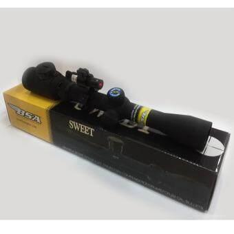 กล้องติดปืน BSA (Scope) 3-9x32EG พร้อม laser
