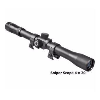 กล้องติดปืนขนาด Sniper Scope 4 x 20