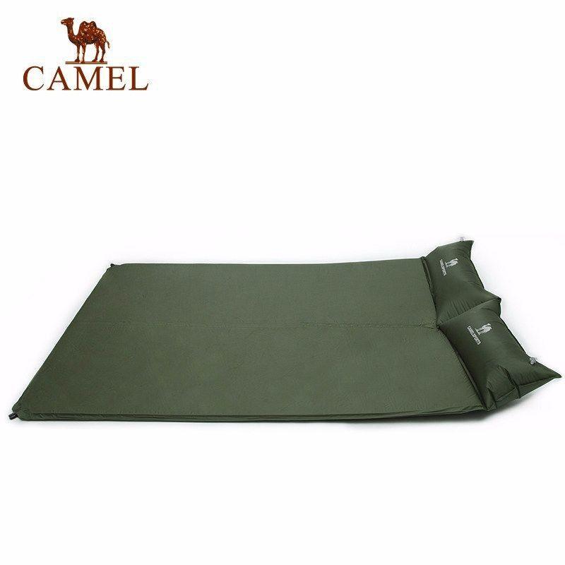 CAMEL 2-Person Automatic Self Inflatable Outdoor Picnic Camping Mat Pillow Air Bed Sleeping Pad Matress - intl