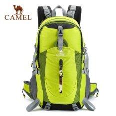 ซื้อ Camel 40L กันน้ำกลางแจ้งกีฬาเดินป่าตั้งแคมป์แพ็คกระเป๋าเป้สะพายหลังปีนเขาปีนเขา Rain Cover รวม ออนไลน์ จีน