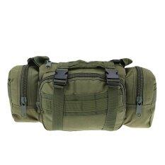 ทบทวน Camera Bag Shoulder Bag Tactics Bag Hanging Multifunction Pockets Green Intl Vakind