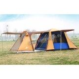 ซื้อ Camping In Th เต็นท์ August Family P4 Canopy มีระเบียงยื่น 110ซม ขนาด 3 4 คนนอน 230X430X160ซม August ถูก