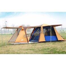 ซื้อ Camping In Th เต็นท์ August Family P4 Canopy มีระเบียงยื่น 110ซม ขนาด 3 4 คนนอน 230X430X160ซม August เป็นต้นฉบับ