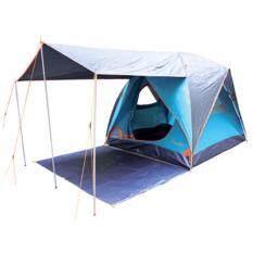 Camping In Th เต็นท์ Aurora Iv Terrace มีระเบียงยื่น180ซม ขนาด 4 5 คนนอน 250X250X180ซม ใน กรุงเทพมหานคร
