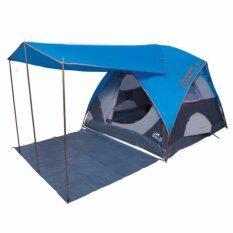 ขาย Camping In Th เต็นท์ Eco Dome 5 Canopy มีระเบียงยื่น150ซม ขนาด 5 6 คนนอน 270X270X200ซม สีน้ำเงิน Karana ใน กรุงเทพมหานคร