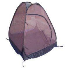 ส่วนลด Camping In Th เต็นท์กระโจมวิปัสสนา นั่งสมาธิ กางอัตโนมัติ 105X105X109ซม สีน้ำตาล มุ้งถี่ Unbranded Generic กรุงเทพมหานคร