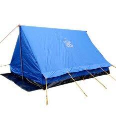 Camping In Th เต็นท์พักแรมลูกเสือ Scout Camp แบบสามเหลี่ยม ขนาด 350X250X180 ซม สีน้ำเงิน ถูก
