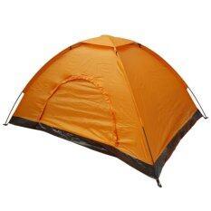 ขาย ซื้อ ออนไลน์ Camping In Th เต็นท์ถวายพระ ขนาด1 2คนนอน สีน้ำตาลอ่อน