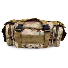 ราคา Casual Sports Outdoor Backpack 3P Magic Waterproof Running Camera Photography Tactical Package Cp Camouflage Intl Neutral ออนไลน์
