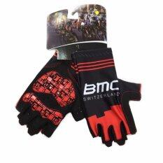 ซื้อ Cbike Bmc ถุงมือปั่นจักรยาน ถุงมือขี่จักรยาน ใส่กระชับ ยาวหุ้มข้อมือ ถุงมือจักรยาน เจล ออนไลน์