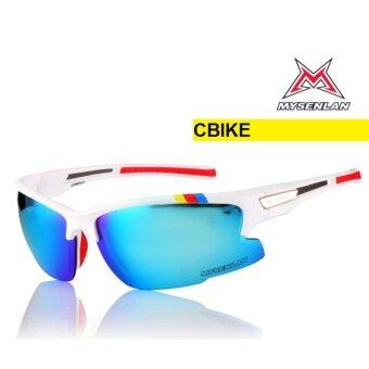 cbike mysenlan รุ่น 3line 2สี แว่นกันแดด แว่นออกกำลังกาย แว่นปั่นจักรยาน แว่นตาสำหรับกิจกรรมกลางแจ้ง
