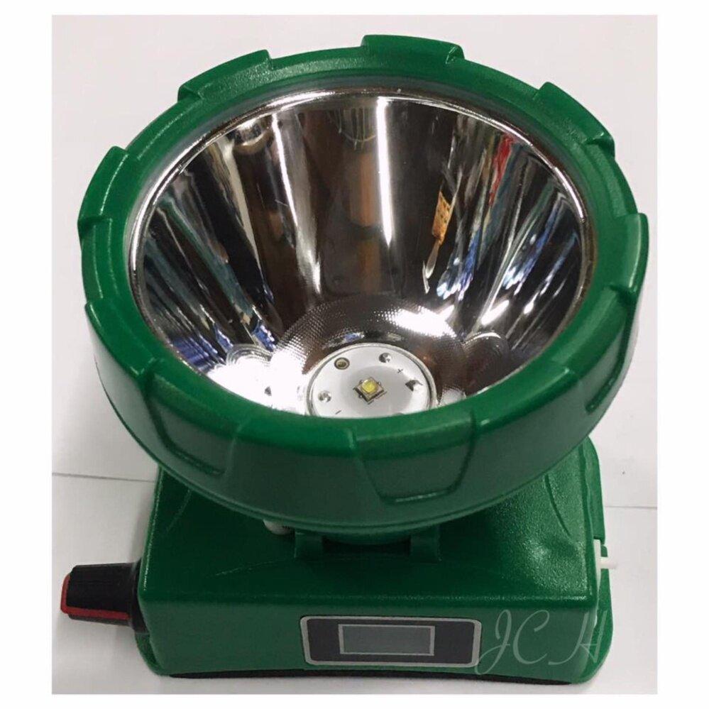 Chang Headlight หัวไฟสวิทซ์หรี่ ไฟฉายคาดหัว ไฟฉายติดหน้าผาก ดิจิตอล ตราช้าง รุ่น Chang 581 LED (แสงเหลือง)
