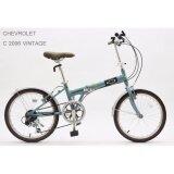 ซื้อ Chevrolet จักรยานพับ ล้อ 20 นิ้ว รุ่น C 2006 Vintage Blue ออนไลน์ Thailand