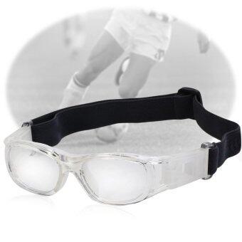 เด็กฟุตบอลบาสเกตบอลกีฬาแว่นตาแว่นตาเลนส์ PC แว่นตาป้องกัน