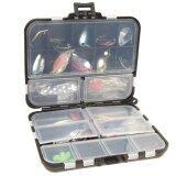 ขาย ชุดช้อนโลหะสำหรับตกปลา ล่อปั่น พร้อมกล่องแท็กเกิล 37 ชิ้น