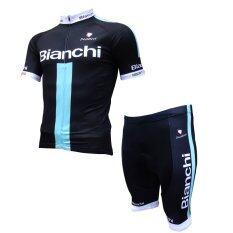Cma ชุดปั่นจักรยานผู้ชาย รุ่น Bianchi สีดำ เป็นต้นฉบับ