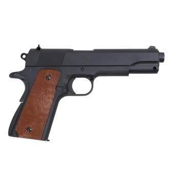 ปืนสั้นสปริง ระบบชักยิงทีละนัด(ถอดแบบ Colt M1911)