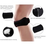 ขาย Compression Patella Strap Non Slip Adjustable Knee Support Brace Pads Black Intl ถูก ใน จีน