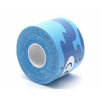 ผ้าฝ้ายยืดกีตาร์บำบัดเทปกีฬาเทปกีฬาสำหรับนักกีฬาสี: สีน้ำเงินข้อมูลจำเพาะ: 2.5 เซนติเมตร X 5 เมตร (QIMIAO) - นานาชาติ-