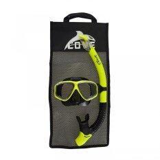 Cove ชุดหน้ากากดำน้ำ Splash-S - Yellow/black.