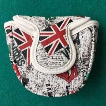 Cover Putter England FLAG style (CPD001)(White)