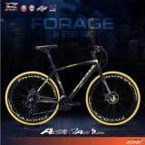 ส่วนลด สินค้า Coyote จักรยานไฮบริด 700C ตัวถัง อลูมิเนียม ไซส์ 49 เกียร์ Shimano 24 สปีด รุ่น Forage สีดำ เหลือง