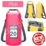 ซื้อ Cr Seven กระเป๋ากันน้ำ ถุงกันน้ำ ถุงทะเล Waterproof Bag ความจุ 20 ลิตร กระเป๋า กระเป๋าสะพาย กระเป๋าเป้สะพายหลัง ถูก กรุงเทพมหานคร