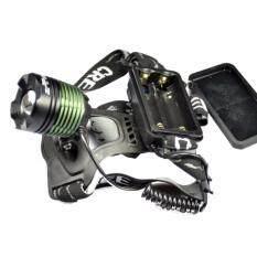 ขาย Cree ไฟฉาย Led คาดหัว High Power Zoom Headlamp แบบชาร์จไฟได้ในตัว หลอดไฟ T6 ถูก กรุงเทพมหานคร