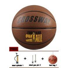 ทบทวน ลูกบาสเกตบอล Crosswayบาสเกตบอลราคาถูก เบอร์ 7 Basketball Crossway No 7 Crossway