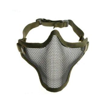 หน้ากากกันลม หน้ากากเดินป่า หน้ากากกันกระสุนเกมส์ยิงปืนเพนท์บอล CSเกมส์ การล่าสัตว์และกีฬากลางแจ้งต่างๆรุ่น SPZ033