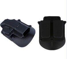 ขาย Cy Outdoor Holsters Right Hand Belt Loop Paddle Platform Tactical Pouch Protection For Glock 17 19 22 23 31 32 34 35 Intl ออนไลน์ ใน จีน